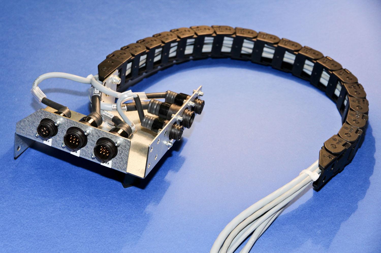 costruzione cablaggi per macchine utensili